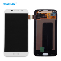 White for Samsung Galaxy S6 G920 G920f LCD Display Touch Screen with Digiziter Assembly Replacement Parts,free shipping