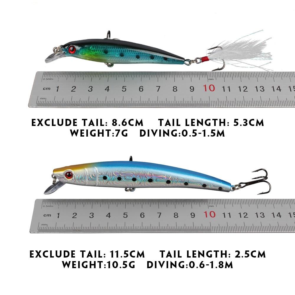 Рыболовные Приманки Набор Minnow - Рыбалка - Фотография 2