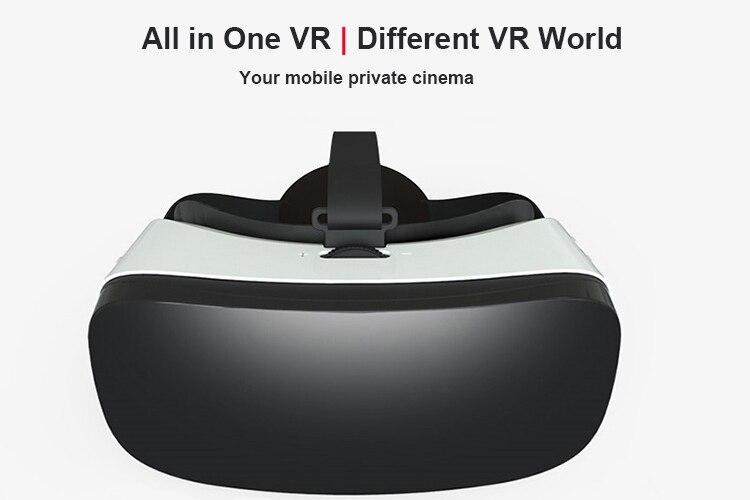 Smart Alle in Een Virtual Reality VR Bril HD 1080 P 5.5 Scherm Rockchip RK3288 16G Bluetooth WiFi 3D Films Video Game Helment - 3
