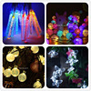 Waterproof LED Solar String Lights Holiday Christmas Fairy Light Solar Power Outdoor Garden Wedding Decoration Lighting