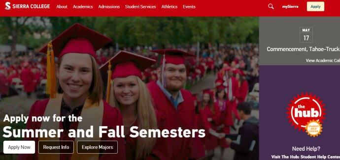 申请塞拉利昂学院(Sierra College)EDU邮箱