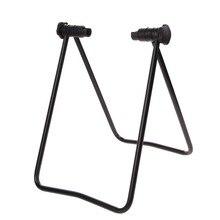 Flexible Universal Para Bicicleta Soporte de Exhibición Soporte De Reparación de Triple Eje de Rueda Sostenedor Plegable Soporte Del Retroceso para el Estacionamiento