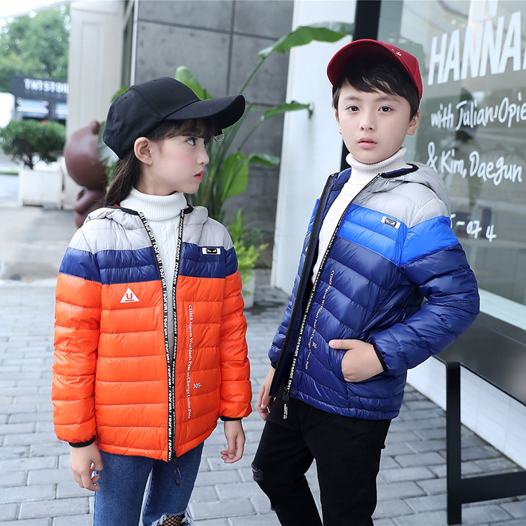 New 2017 Autumn Children Outerwear For Girls Boy Coat Children's Down Jackets For Boys Girl Jackets Kids Coats Down Parkas 2017 fashion boy winter down jackets children coats warm baby cotton parkas kids outerwears for