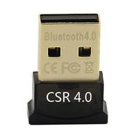 Mini USB 2.0 Bluetooth 4.0 CSR4.0 Adapter Dongle for PC Laptop Win XP Vista 7 8 Office & School Supplies