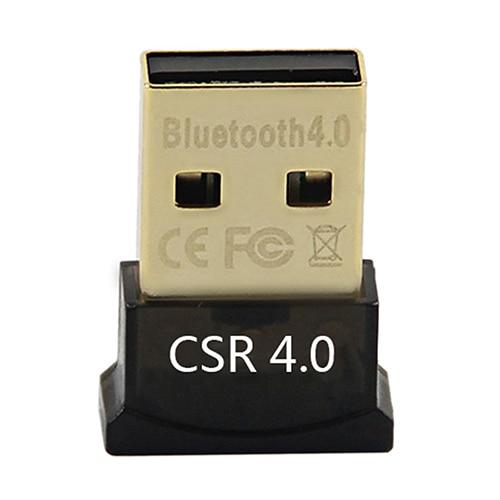 Mini USB 2.0 Bluetooth 4.0 CSR4.0 Adapter Dongle for PC Laptop Win XP Vista 7 8