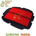 Rejilla de aire Filtro de Entrada Fit VFR800 VFR 800 Interceptor FI VTEC 98-01 ABS 2002-2009 Motocicleta moto Bici de La Suciedad de La Calle