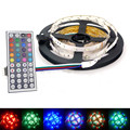 DC12V RGB LED Strip Light SMD3528 Unwaterproof LED String Ribbon Tape New Year Christmas Decoration Strips Lamp 12V Power Supply