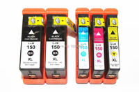 5 PACK Compatible 150XL Ink Cartridges For Lexmark 150 S315 S415 Pro 715 915 H Quality