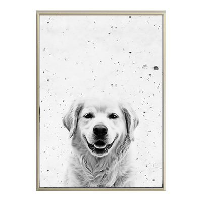 Almudena horse dog animal canvas paintings black white animal wall art nordic posters prints pictures for living room home decor in painting calligraphy