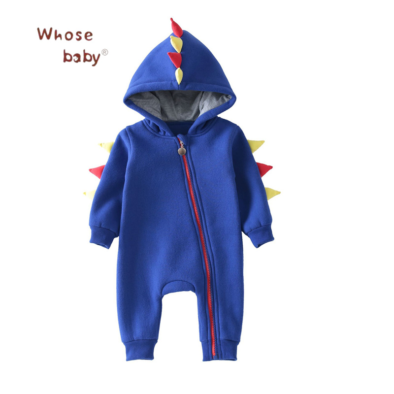 3D Dragon Baby Boys Rompers Newborn Cartoon Body Suit Baby Clothing Cotton Long Sleeve Jumpsuits Outerwear Hooded Kids Costumes baby boys romper girls jumpsuit kids clothing summer newborn love cartoon cotton baby body suit cartoon long sleeve clothes