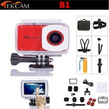 "Original Tekcam B1 wifi 4k underwater action camera 2.45"" touchable screen ultra HD Go pro style travel sports DV drone camera"