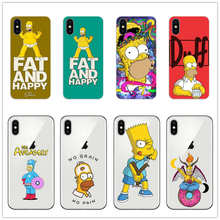 Homero J simpson teléfono Jay SIMPSON caso de suave silicona caja del  teléfono TPU para iPhone 5 5S 6 S SE Plus 7 7 Plus 8 8 Plu. 061d48974fcb