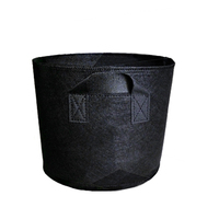 Non Woven Tree Fabric Pots  Grow Bag Root Container Plant black hand with planting flowers nonwoven bags Grows Culture|Grow Bags| |  -