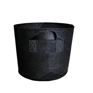Image 1 - Non Woven Tree Fabric Pots  Grow Bag Root Container Plant black hand with planting flowers nonwoven bags Grows Culture