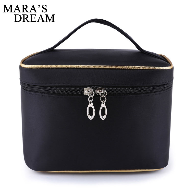 Mara's Dream Women Cosmetic Bag Simple Small Size Foldable Portable Water-proof Cosmetic High-quality New Women Box