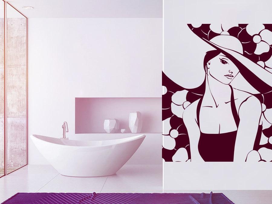 Cool Bathroom Vinyl online get cheap girls bathroom designs -aliexpress | alibaba