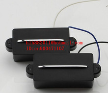 free shipping new electric bass guitar  pickup in black   HY-8314