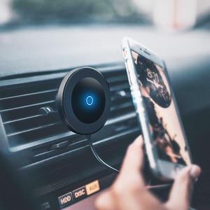 Image 5 - Магнитное беспроводное автомобильное зарядное устройство Bonola для iPhone 11/11Pro/11ProMax/XsMax/Xr/8 Qi, автомобильное беспроводное зарядное устройство для телефона Samsung S10/S9/S8