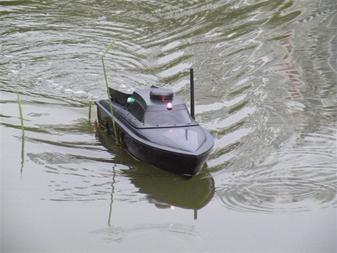 Jabo 1al rc bait fishing boat working distance 300m in for Rc boat fishing