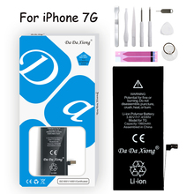 Original Da Da Xiong Battery For iPhone 7 7 G Battery Real Capacity 1960mAh With Repair Tools Kit And Batteries Sticker цена 2017