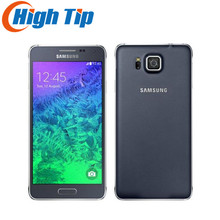 refurbished Original Unlocked Samsung Galaxy Alpha G850A G850 G850F Ouad Core 16GB ROM 12.0MP 4.7 Inch TouchScreen Mobile Phone