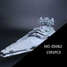 05062 1359pcs Genuine Star Series The Star model Destroyer Set 75055 Building Blocks Bricks Educational Wars Toys for gift