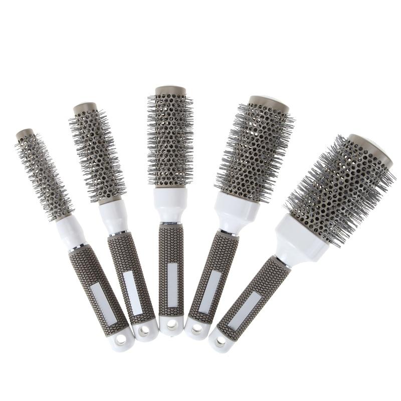 5 sizes durable ionic brush barber hairdressing salon for Salon hair brushes