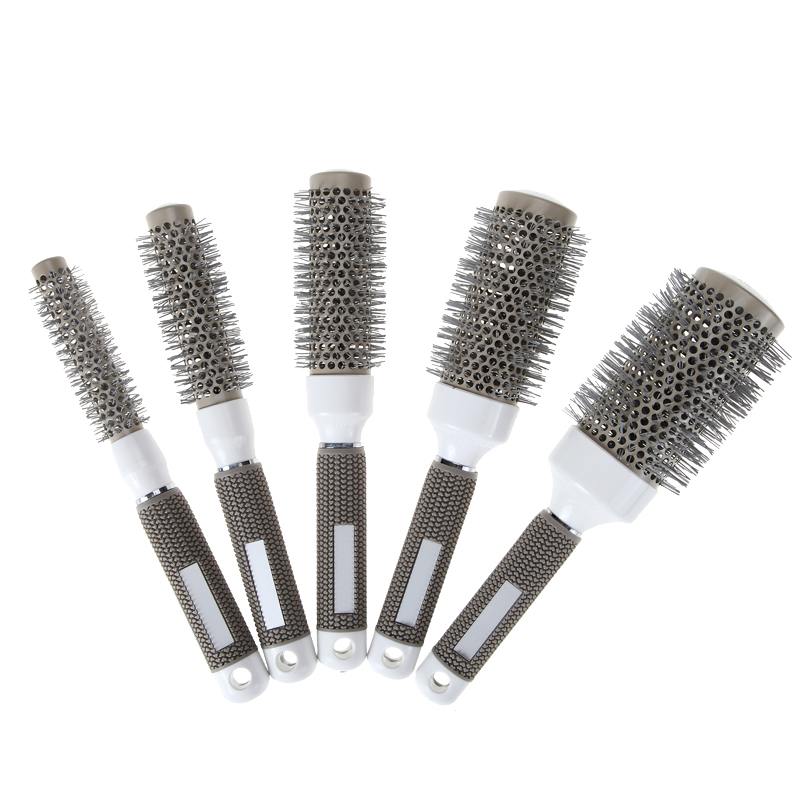 5 sizes durable ionic round brush comb barber hair for Hair salon tools