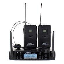 GLXD4 Профессиональная UHF беспроводная гарнитура, микрофон, система, беспроводной бодипак, передатчик, головной убор, микрофон для диджея, микшер, аудио, караоке
