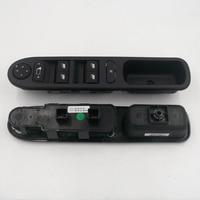 Para novo peugeot 307 dongfeng janela levantador interruptor de montagem interruptor da janela levantador manual