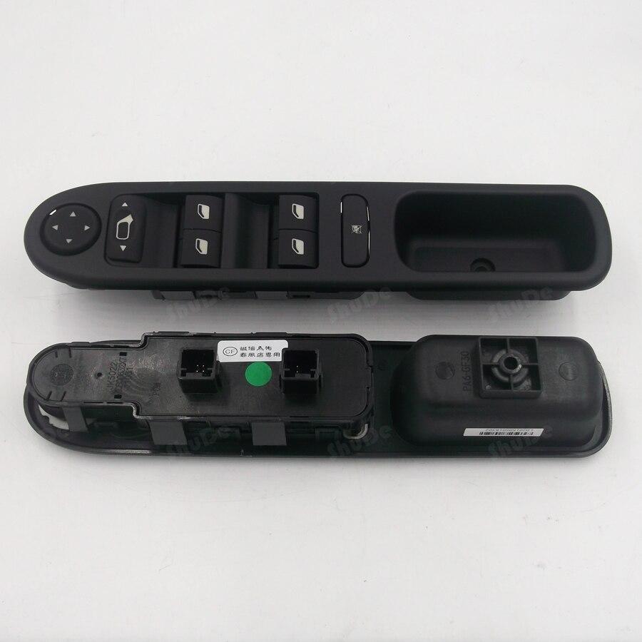 Per la nuova peugeot 307 Dongfeng finestra dell'assieme interruttore sollevatore finestra interruttore sollevatore manuale