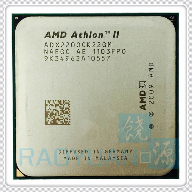 AMD Athlon II X2 220 X2-220 2.8GHz Dual-Core CPU Processor ADX220OCK22GM Socket AM3 938pin