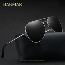 BANMAR Classic Marca gafas de Sol Hombres Mujeres gafas de Sol Polarizadas Gafas de Piloto gafas de sol hombre polarizadas marca femininos 8012