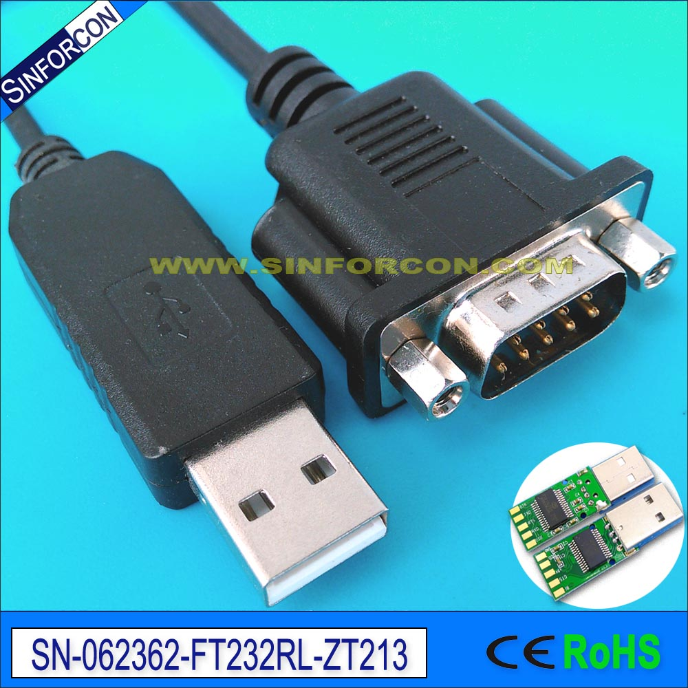 all windows os android mac linux ft232r ftdi usb rs232 db9 male adapter cable, usb232r-10 usb232r-100 win8 10 mac android ftdi ft232rl usb rs232 db9 serial adapter converter cable