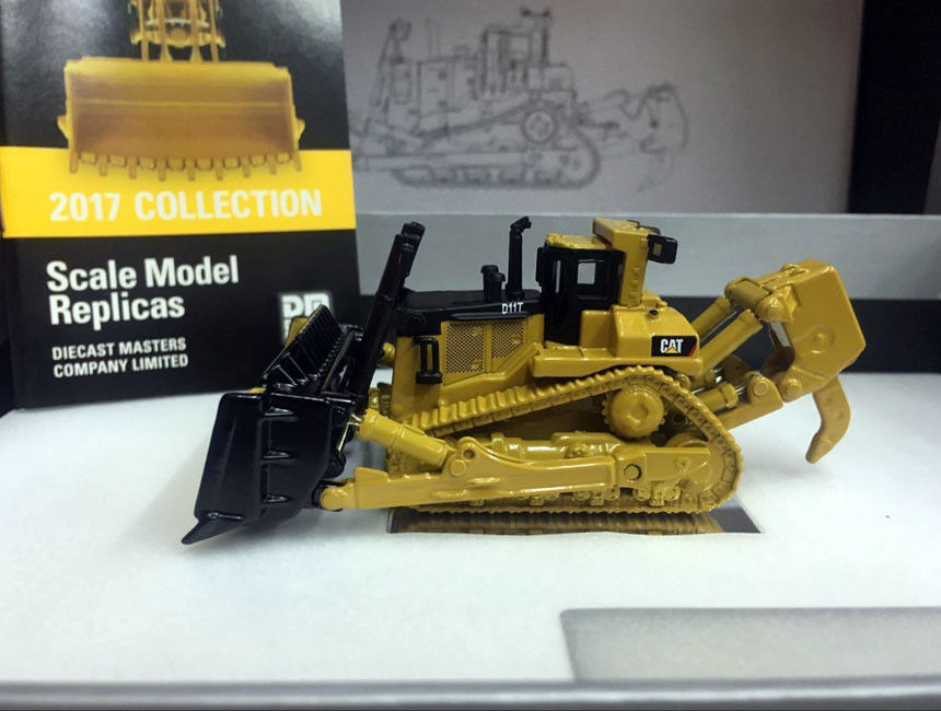 *NEW* Caterpillar Cat D11T Track-Type Tractor Elite 1/125 Scale Metal Model By DieCast Masters 85538 large 24x24 cm simulation white cat with yellow head cat model lifelike big head squatting cat model decoration t187