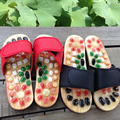 massage Natural cobblestone agate stone massage slippers foot care at home acupoint seniority acupuncture massager