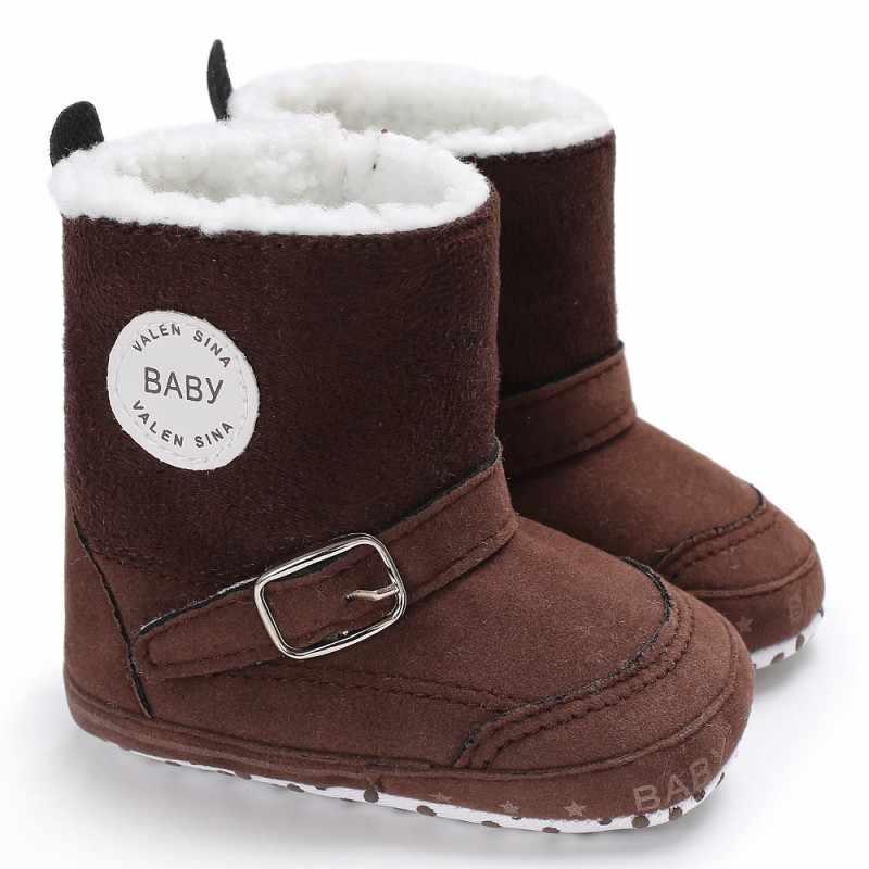 יילוד תינוק חורף מגפי תינוקות פעוט בנות בני נעלי Snowfield עריסה Bebe ילדים סופר להתחמם רוכסן ספורט סגנונות נעליים