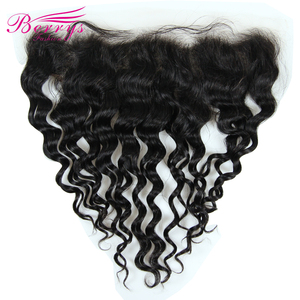 Image 3 - New Arrivals HD Lace Frontal Loose Wave 13*4 HD Lace Frontal With Baby Hair 100% Human Hair Bleached Knots 10 20inch