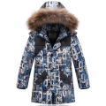 Warm Winter Coat Children Outerwear Kids Clothes Waterproof Windproof Baby Boys Girls Jackets For 3-8T