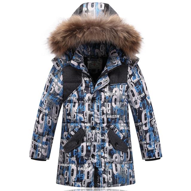 Warm Winter Coat Children Outerwear Kids Clothes Waterproof Windproof Baby Boys Girls Jackets For 3-8T