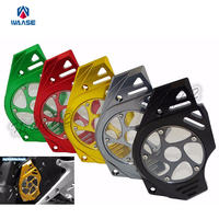 Motorcycle Front Sprocket Chain Guard Cover Engine For Kawasaki ER6N ER6F 2006 2007 2008 2009 2010