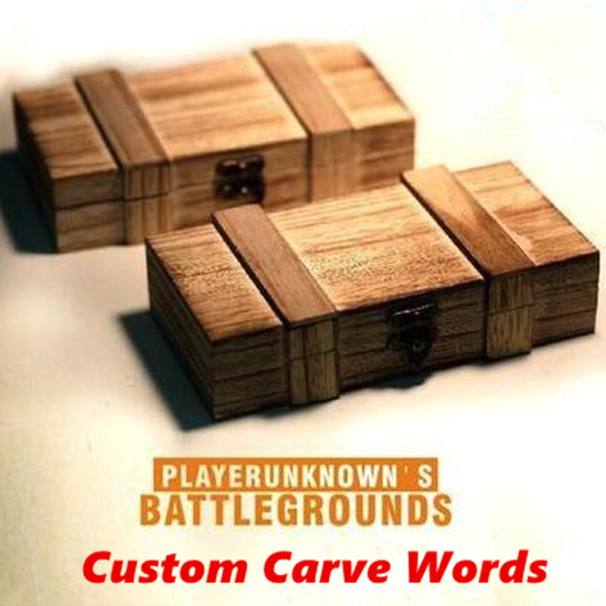 Game PUBG Playerunknown 39 s Battlegrounds Cosplay Props Death Box Custom Made Storage Glasses Box Pencil Case in Costume Props from Novelty amp Special Use