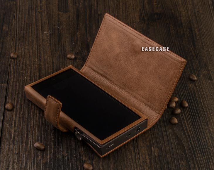 Image 5 - E4 Custom Made Genuine Leather case for IRIVER Astell&Kern A&futura SE100-in Phone Pouches from Cellphones & Telecommunications