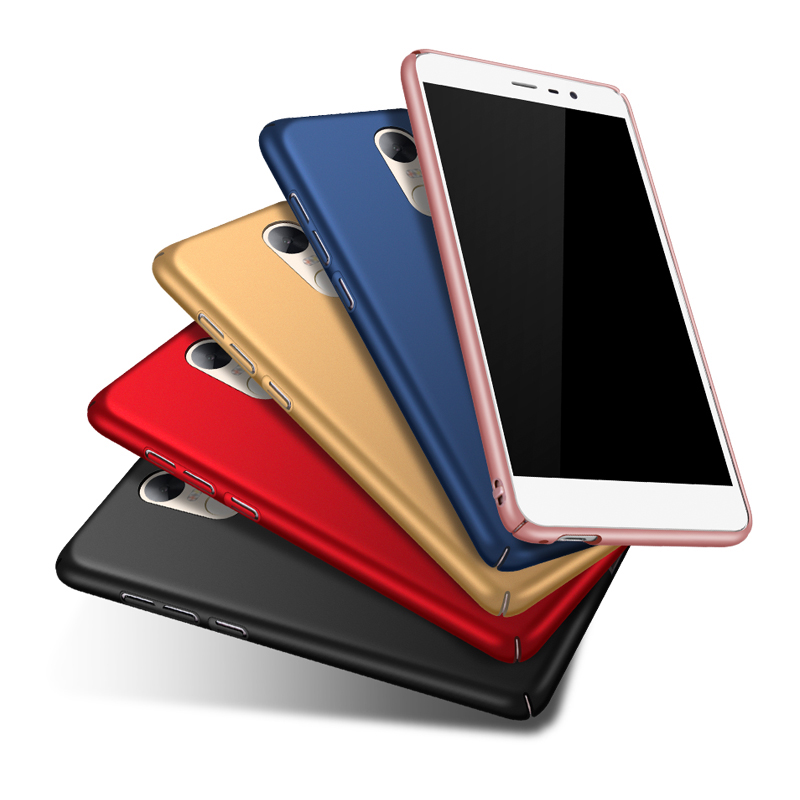 Full Body Case For Xiaomi 4 4C 4i 5 5S Plus Redmi 3 3s Pro 4 4A Note3 Prime Note2 Note4 Note 2 Hard PC Smooth Matte Silm Cover