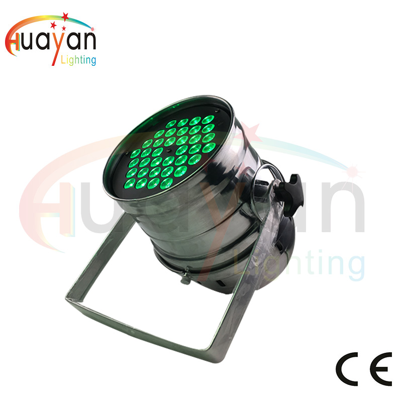 Big Discount 36*3W RGB 3in1 tricolor LED PAR 64 dj lighting wash effect stock sales