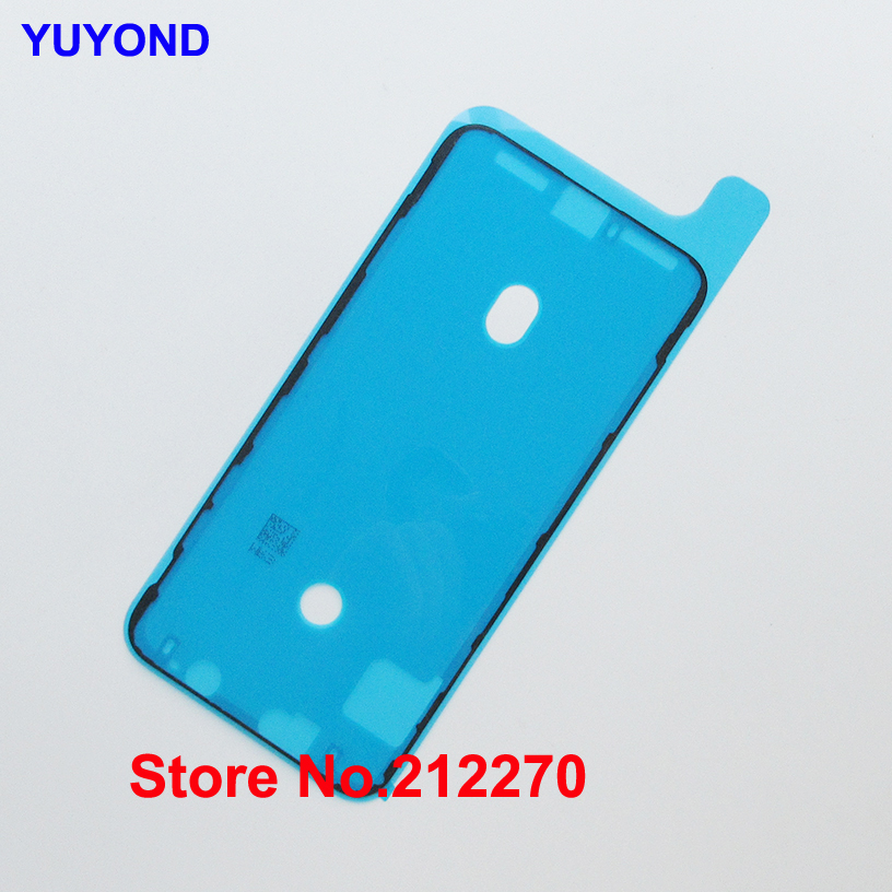 YUYOND Original New Waterproof Adhesive Sticker For iPhone XS Max Front Housing Frame Pre Cut Replacement
