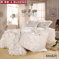 3 Piece Duvet Cover Queen,100% Bamboo Fiber Lace Duvet Cover,Ultra Soft and Easy Care,Simple Style Bedding Set (Queen, Red)