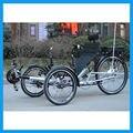 500 vatios 48 V 20Ah Pedal Asistida Eléctrica Triciclo Reclinado
