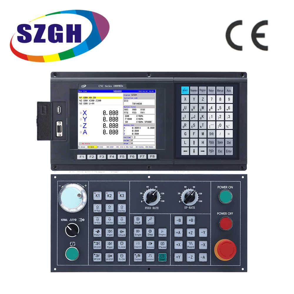 Nouveau contrôleur de CNC 4 axes pour fraiseuse et routeur avec code G servo stepper avec panneau de commande de CNC de mouvement USB