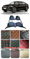 Customs 5 Seats 1 Set Car Floor Mat Leather Waterproof Front & Rear Floor Mats Carpets Pads for BMW 5 Series 5GT F07 2010 2015